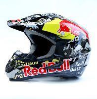 Шлем кроссовый Red Bull фото 2
