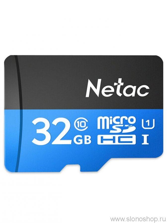 Карта памяти Netac micro SDHC 32Gb. Class 10. Оригинал