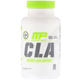 MusclePharm Essentials CLA 1000 мг 90 мягких таблеток