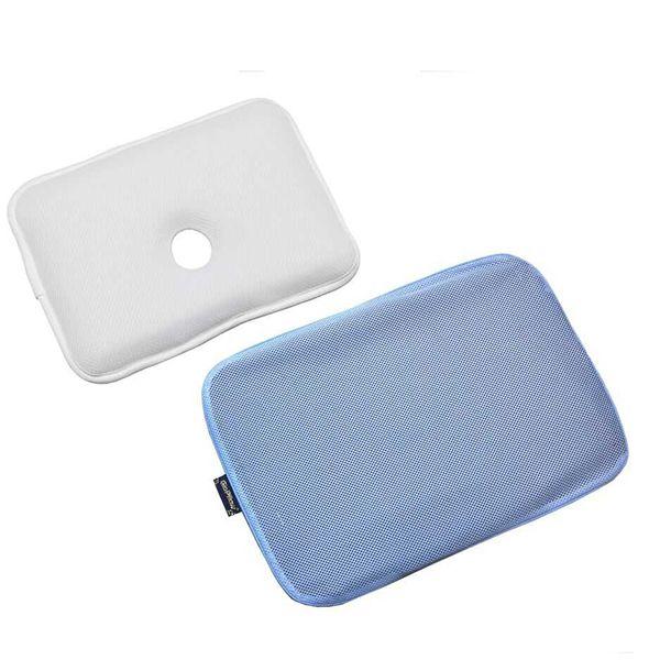 Анатомическая подушка с чехлом GIO Pillow BLUE