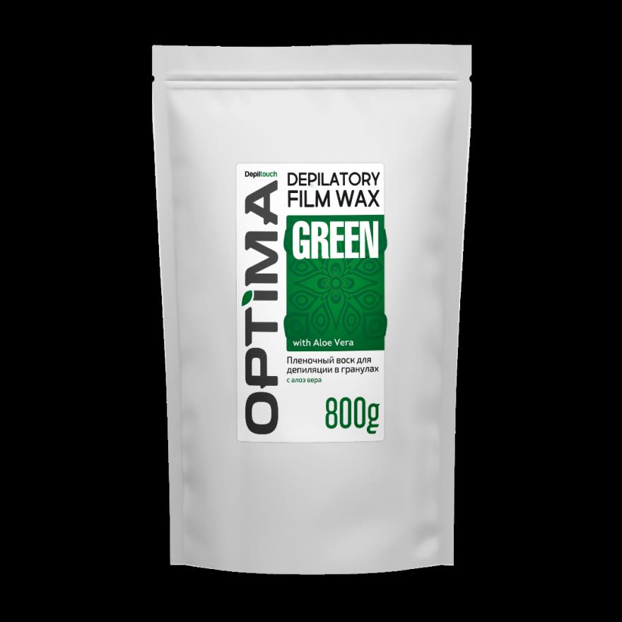 """Воск ОПТИМА  """"GREEN"""" в гранулах, 800 гр."""