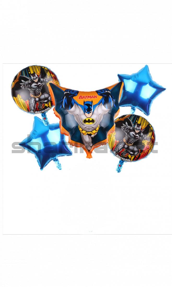 Комплект гелиевых шариков «Batman»