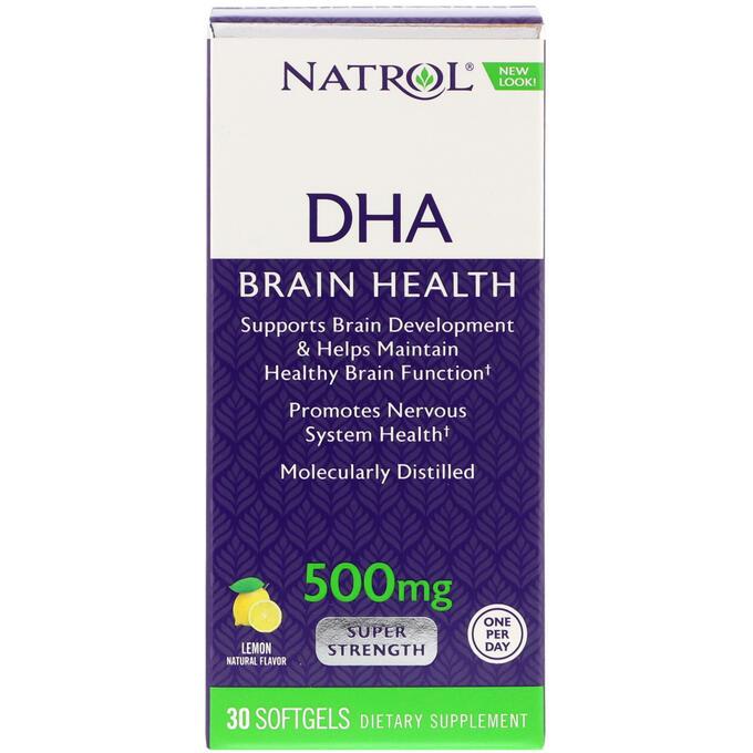 DHA 500mg 30caps lemon(Natrol)