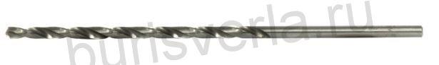 Сверло по металлу удлиненное, 4,2 х 119 мм, Р6М5, 1 шт. БАРС 718042
