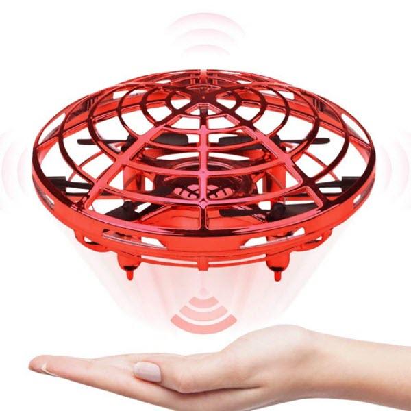 Индуктивный мини-дрон НЛО SP330. Цвет: Красный