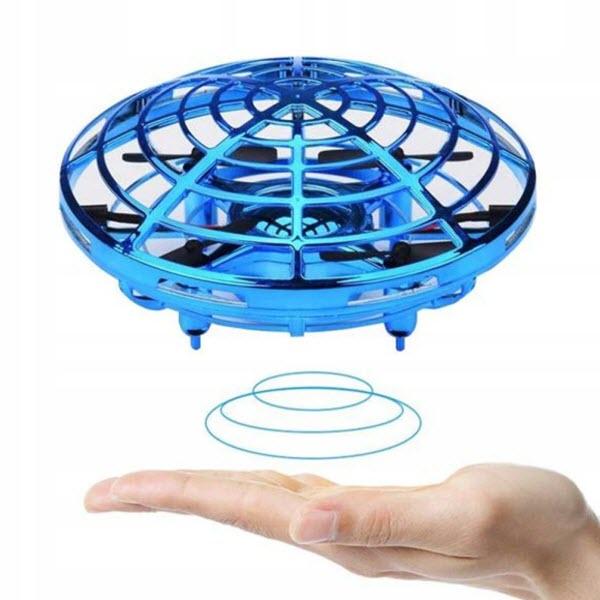 Индуктивный мини-дрон НЛО SP330. Цвет: Синий