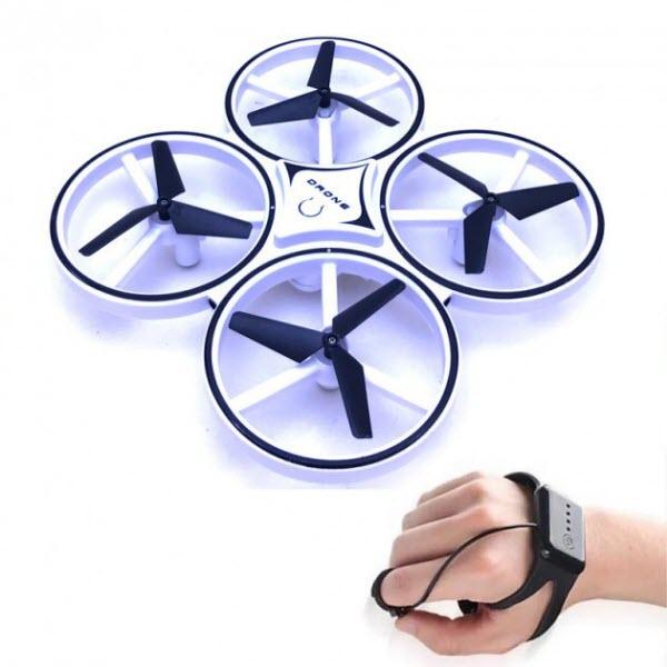 Квадрокоптер с перчаткой управления Drone 928. Цвет: Белый