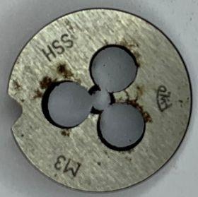 Плашка М3.0х0,5 HSS ГОСТ9740-71