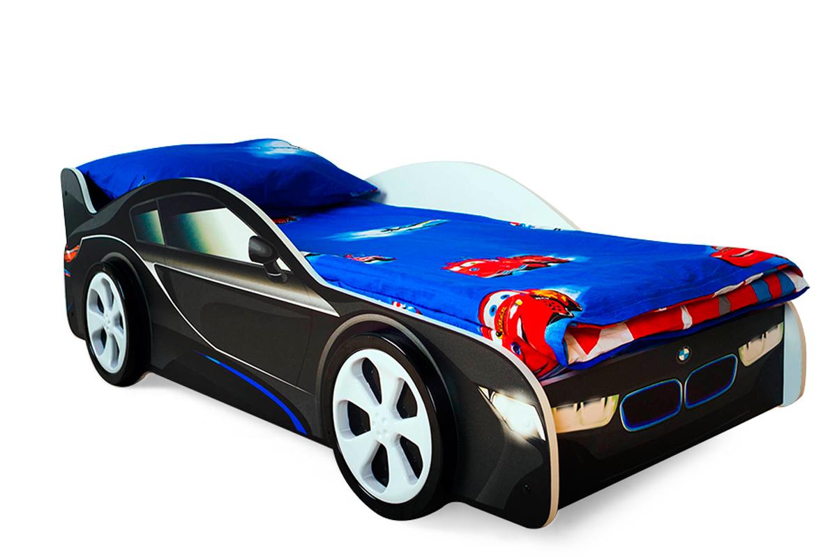 Детская кровать-машина БМВ