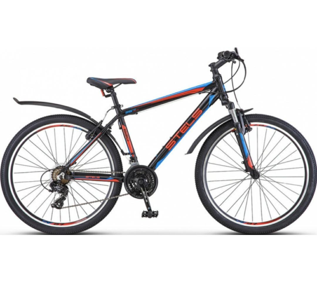 Горный (MTB) велосипед Stels Navigator 620 V 26 V010 (2019) Чёрный/Красный/Синий