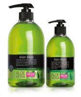 Жидкое мыло для рук с ароматом Алоэ вера (флакон с дозатором), 1000 мл