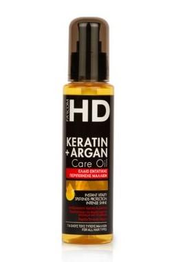MEA Natura Масло спрей для волос Восстановливающее Кератин + Аргановое масло 100 мл.