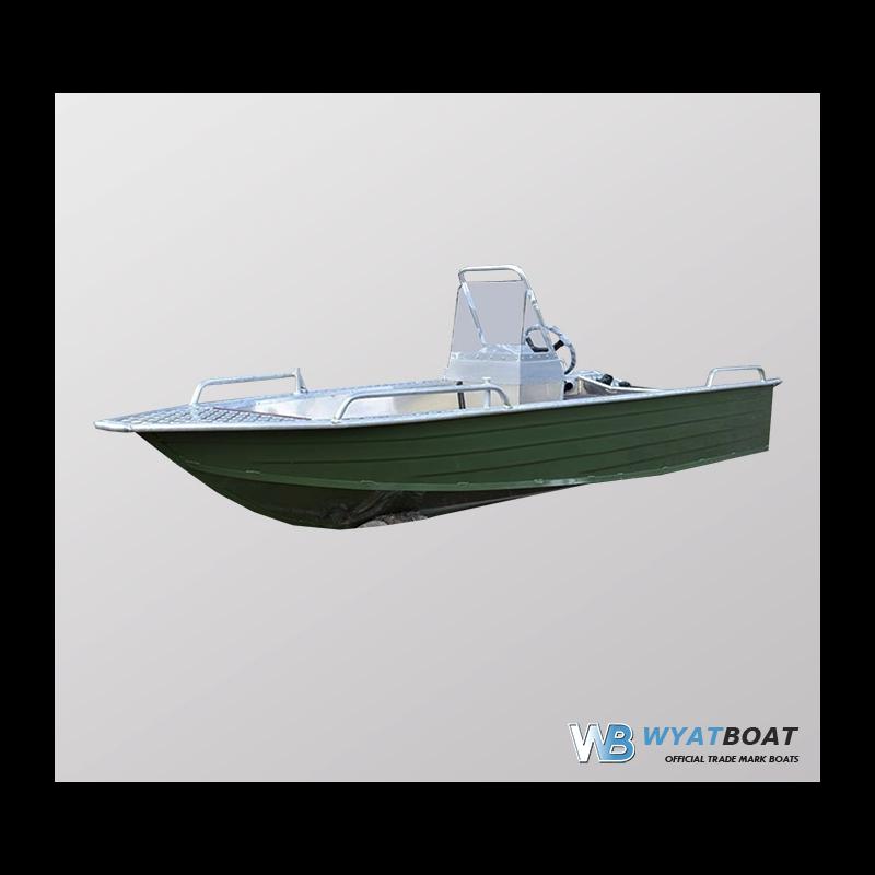 Катер Wyatboat-390 У с консолью