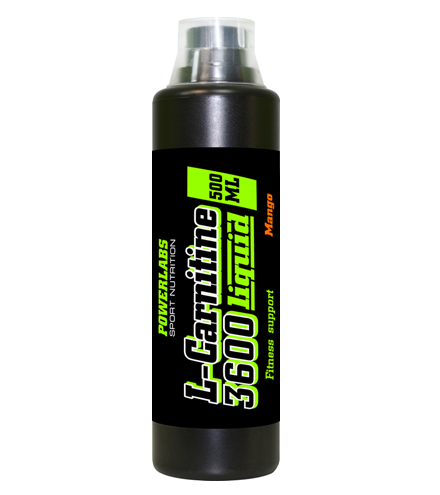 POWERLABS L-CARNITINE 3600 LIQUID 500 МЛ