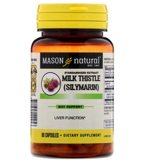 Mason Natural  Silymarin 60 caps