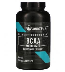 Sierra Fit BCAA 1000 мг  240 капс