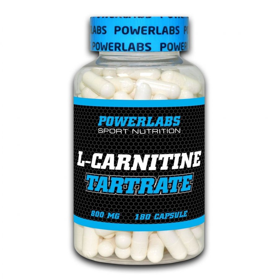 POWERLABS L-CARNITINE TARTRATE 180 капс