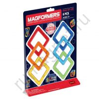Магнитный конструктор MAGFORMERS 701001 Квадраты 6