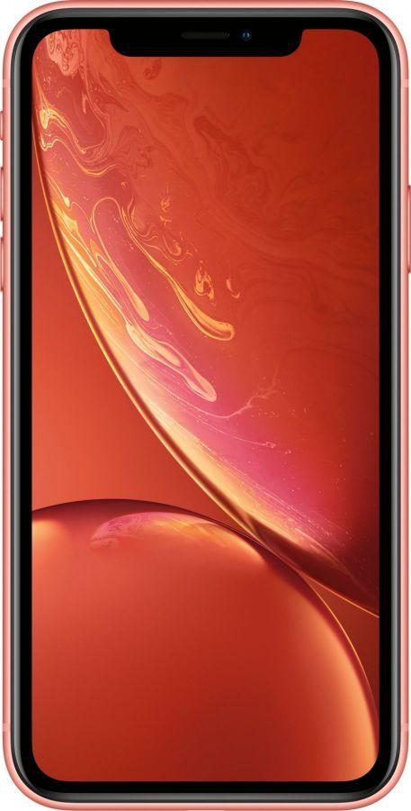 iPhone Xr, 64 ГБ, Коралловый
