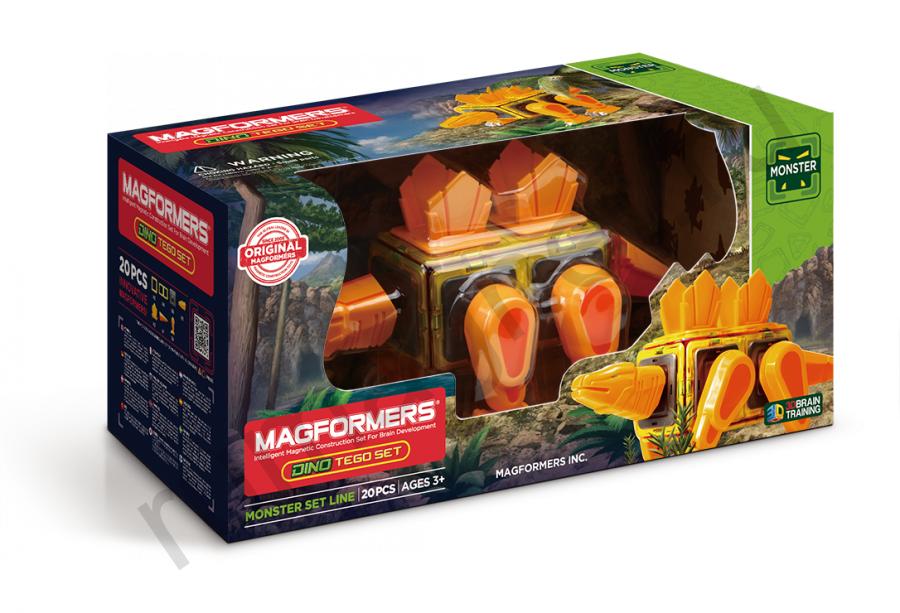 Магнитный конструктор MAGFORMERS 716001 Dino Tego set