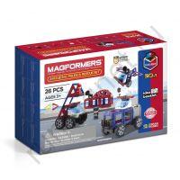 Магнитный конструктор MAGFORMERS 717001 Amazing Police & Rescue Set