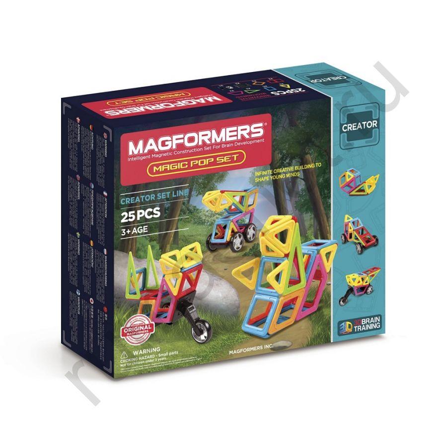 Магнитный конструктор MAGFORMERS 703005 Magic Pop