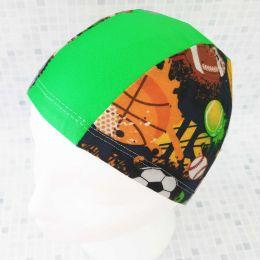 Спорт Текстильная шапочка для плавания