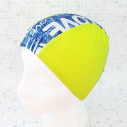 Джинса Текстильная шапочка для плавания
