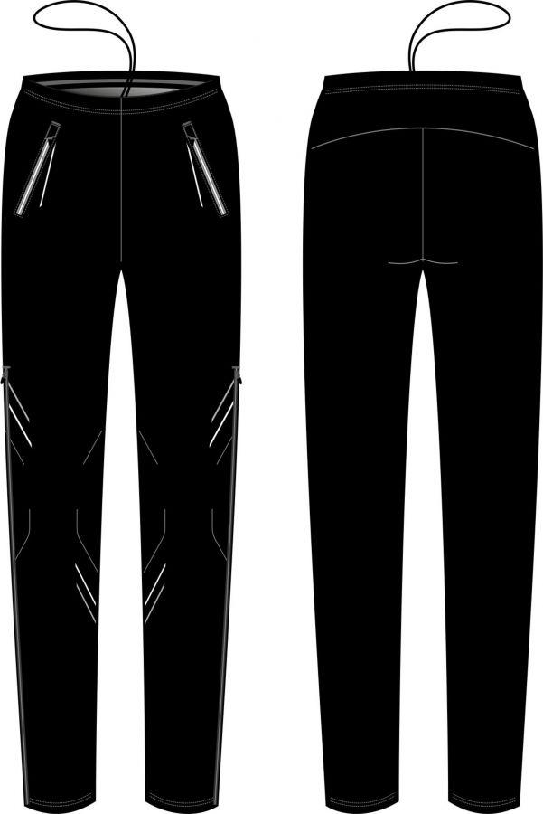 брюки разминочные kv+ premium full zip