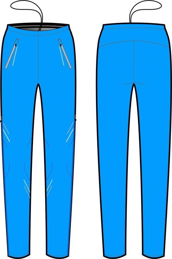 брюки разминочные kv+ premium blue