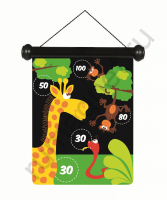 Магнитный дартс SCRATCH 6182014 Зоопарк