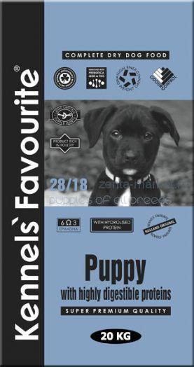 Kennels` Favourite Puppy Для щенков (стартеров) 20 кг.