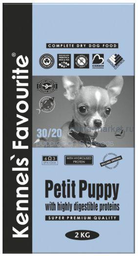 Kennels` Favourite Petit Puppy Для щенков мелких пород 2 кг.