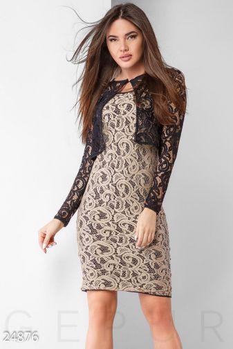 Платье с болеро 24876