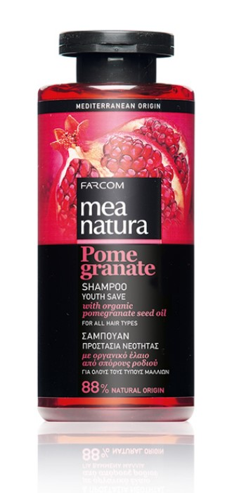 Mea Natura Pomegranate, Шампунь Сохранение Молодости, 300 мл