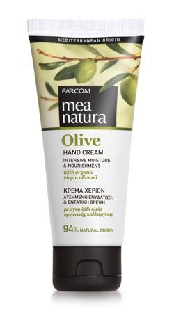Mea Natura Olive, Крем для рук, 100 мл.