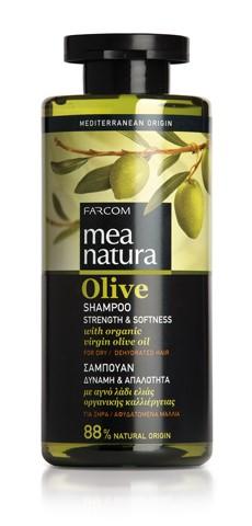 Mea Natura Olive, Шампунь для сухих и ослабленных волос, 300 мл