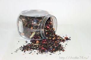 """Чай чёрный """" Вереск и малина"""" ароматизированный 100гр."""
