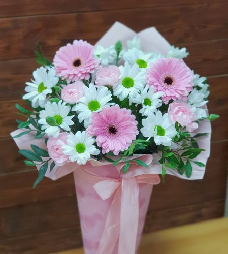 "Букет цветов ""Весенняя скромница"""