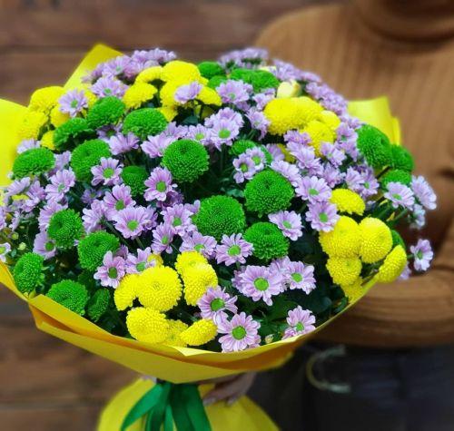 """Букет цветов """"Бархатный сезон"""""""