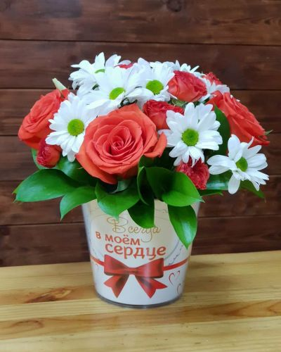 "Коробка цветов ""Лагуна"""