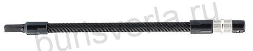 Гибкий переходник для бит, 190 мм, 1/4. GROSS
