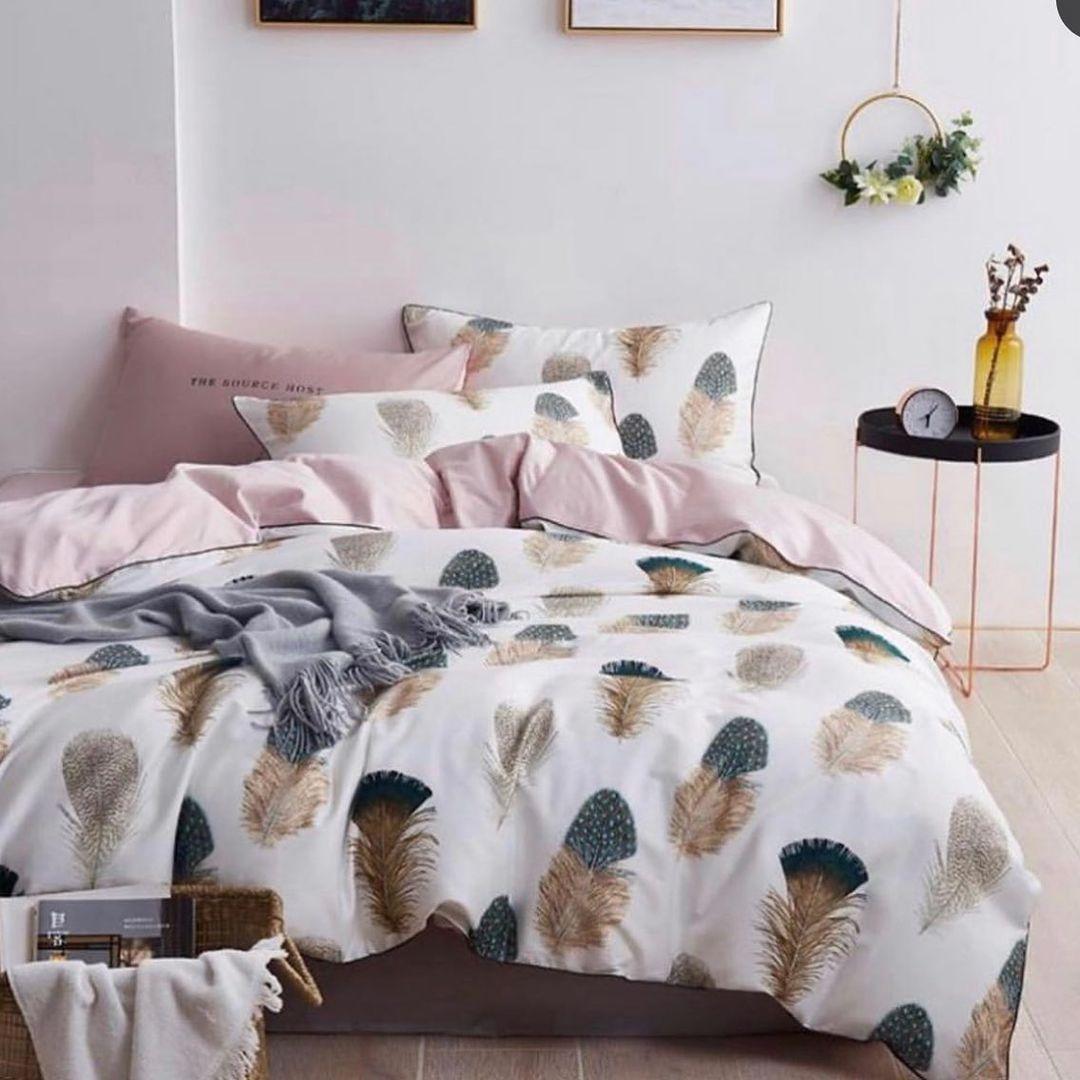шикарное сочетание постельного белья