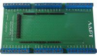 Терминальный адаптер для Arduino Mega2560 на DIN рейку. ЛАРТ LA2560-54