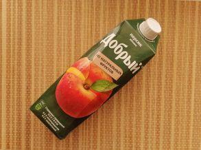 "Нектар персиково- яблочный ""Добрый"""