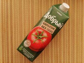 """Сок томатный с солью """"Добрый"""""""