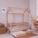 Кровать домик Классика некрашеная