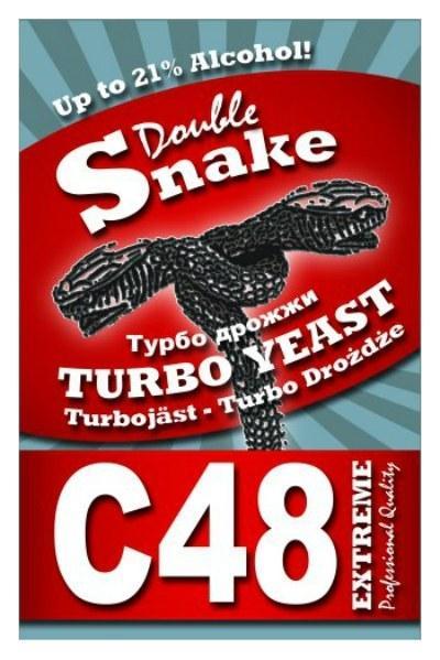 Турбо-дрожжи DoubleSnake C48 на 25 л