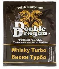 Спиртовые турбо дрожжи Double Dragon Whisky Turbo