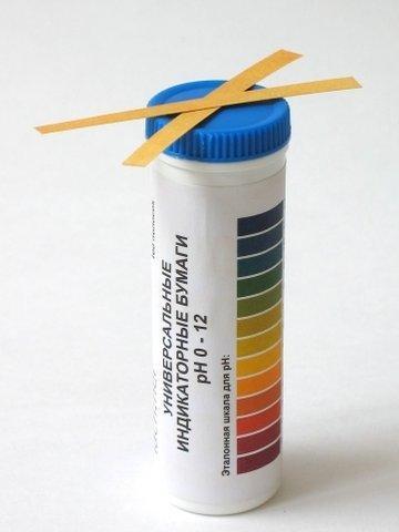 Индикаторная бумага для определения pH